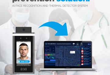Face Recognition & Temperature Sensor