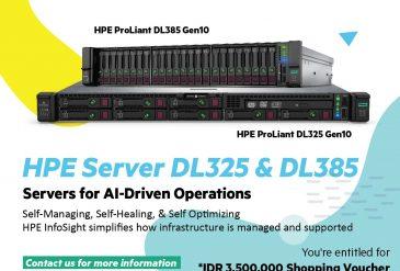 Server Kecil dengan Kekuatan Besar (HPE DL325 & DL 358)